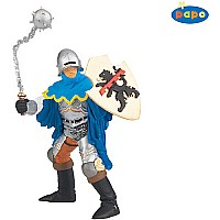 Blue Officer With Mace