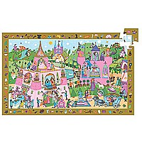 Djeco Princess Observation Puzzle - 54pcs