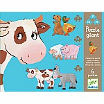 Daisy  Friends 6 Puzzles  9,12,15 Pcs
