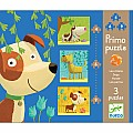 Dogs 3-In-1 Puzzles