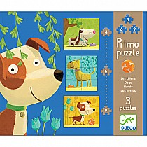 4 6 9 pc Primo Dogs Puzzles