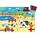 the Cow On the Farm  24pcs