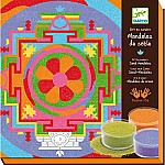 Tibetan Mandalas Colored Sand Art