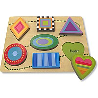 Innovative Kids Green Start Shape Parade Puzzle