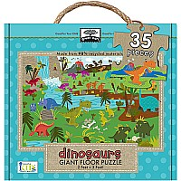 Green Start Dinosaurs Floor Puzzle