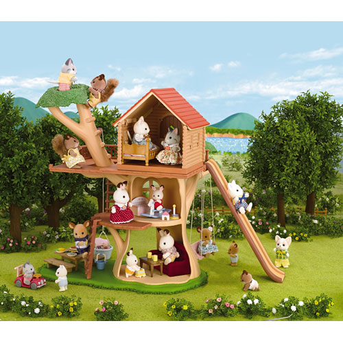 how to build a toy treehouse