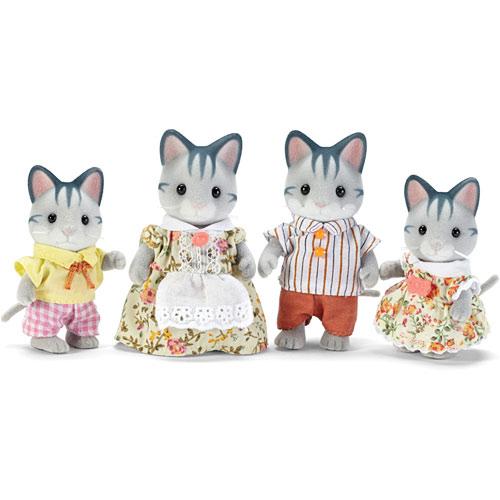 Calico Critter Fisher Cat Family Stevensons Toys