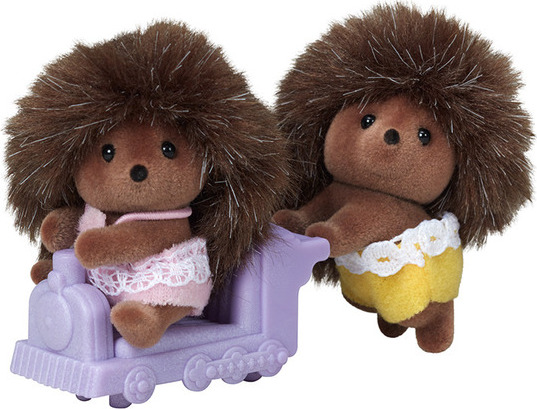 Calico Critters Pickleweeds Hedgehog Twins Timbuk Toys