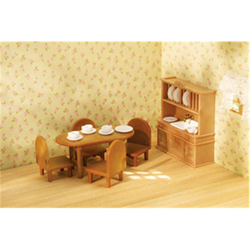 Country Dining Room Set Calico Critters