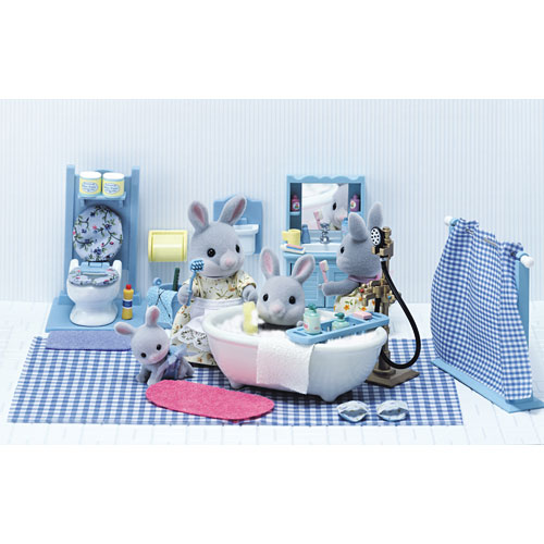 calico critters master bathroom set amazing toys