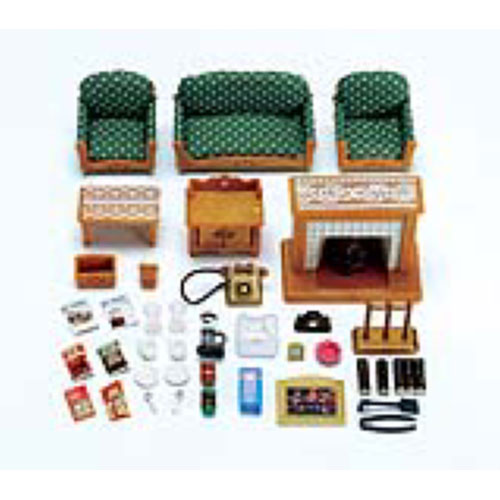 Calico Critters Deluxe Living Room Set Amazing Toys