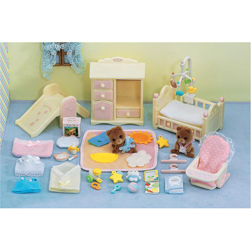 Calico Critters Baby's Nursery Set - West Side Kids