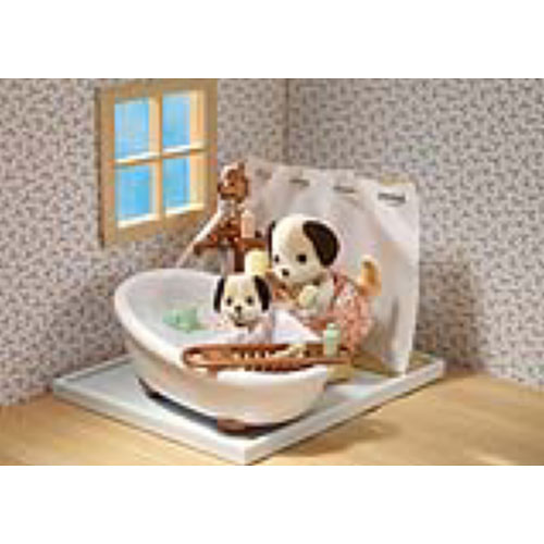 Deluxe Bathroom Set  Calico Critters    International Playthings CC2480. International Playthings CC2480 Deluxe Bathroom Set  Calico