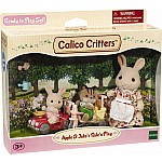 Calico Critters Apple Jake's Ride N Play