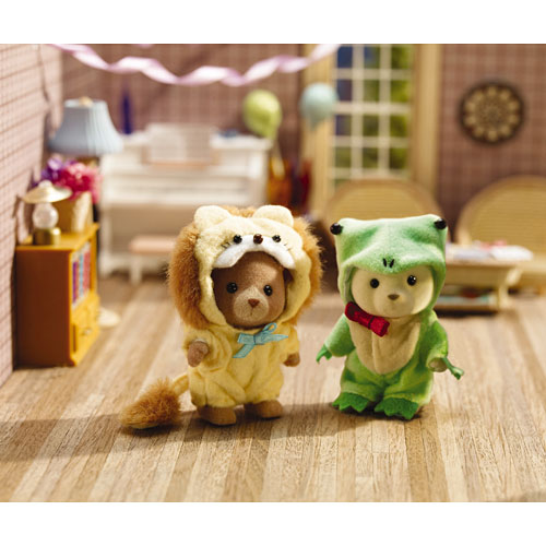 Costume Critters - Frog & Lion - The Toyworks
