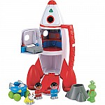 Rocket Spaceship Toy Playset