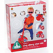 Sing Along Star Mic Red