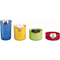 Funny Face Bath Beakers