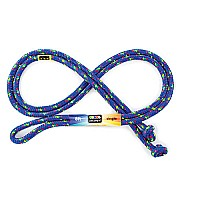 8 Foot Jump Rope - blue - made in the USA