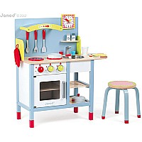 Janod Kitchen Combo with Stool