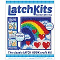 LatchKits Rainbow Mini-Rug Craft Kit