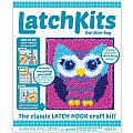 Latchkits Owl Mini-Rug Craft Kit