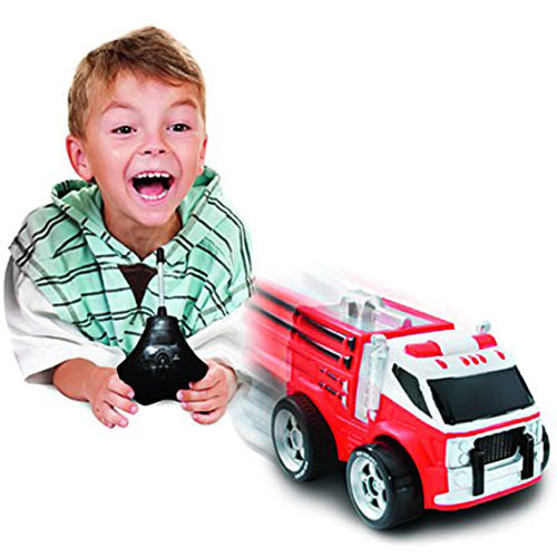 remote control truck for toddlers with Kid Galaxy Squeezable Remote Control Fire Truck Rc Toy For Preschool Kids Ages 2 And Up Red on Best Vehicle For Kids as well Diecast 25 Cars Pack Maisto further 382594930820001827 likewise 400573425885 moreover Toy Car Made Of Recycled Materials.