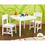 Aspen Table & 2-Chair Set (White)