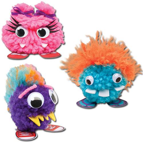 Pom pom monster salon monkey fish toys for Monkey fish toys