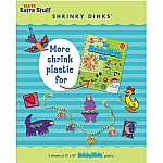 the Shrinky Dinks Book  Extra Shrinkable Plastic