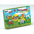 Dot-2-Dot Alphabet Lacing Animals