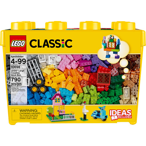 LEGO Large Creative Brick Box - Jakes Toy Box Online