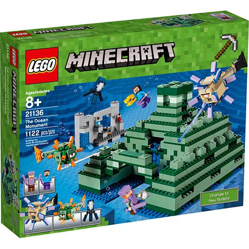 Walmart Toys For Boys Legos : Lego minecraft the ocean monument amazing toys