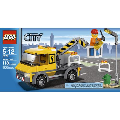 Lego City Repair Truck 118 Piece 3179 Lego