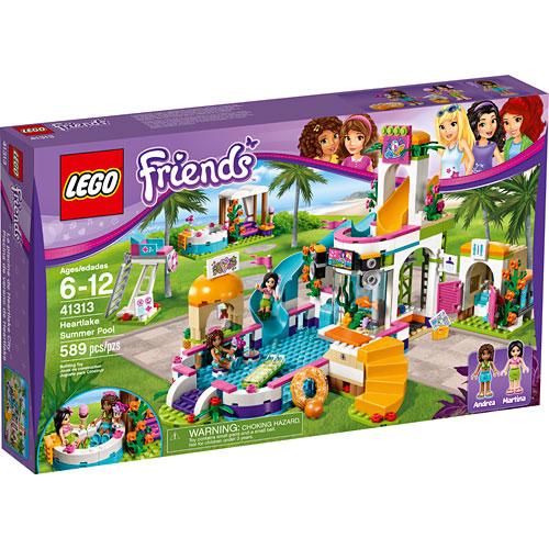 Lego Friends: Heartlake Summer Pool - Hall of Toys