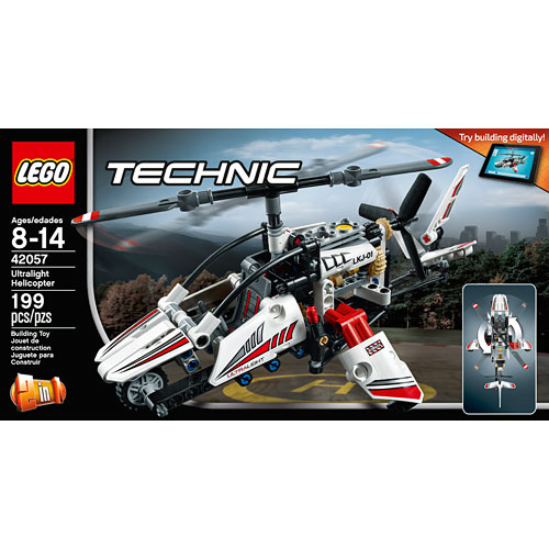 lego technic ultralight helicopter amazing toys. Black Bedroom Furniture Sets. Home Design Ideas