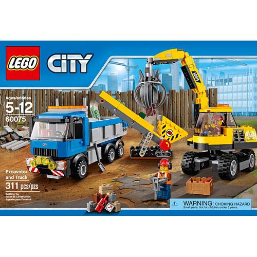 Toys 4 Trucks Green Bay : City excavator and truck stevensons toys