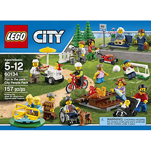 LEGO City Town 60134 Fun in the park - City People Pack Building Kit ...