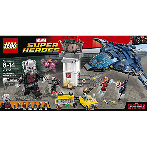 LEGO Super Heroes Super Hero Airport Battle 76051 - LEGO