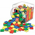 Square Color Tiles, Set of 400