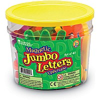 Jumbo Magnetic Uppercase Letters (40 PC