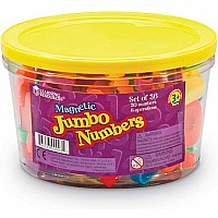 Jumbo Magnetic Numbers Operations, Set of 36
