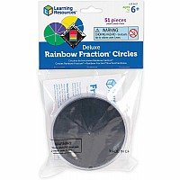 Deluxe Rainbow Fraction Circles