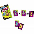 Snap It Up Math Card Game Multiplication