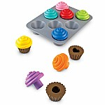 Shape Sorting Cupcakes
