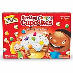 Shape Sorting Cupcakes Game