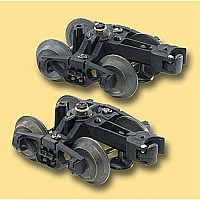 Die-Cast Metal Sprung Trucks
