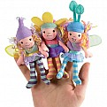 Beneath the Leaf Fairies Finger Puppet (3 styles 4 ea)