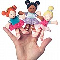 Finger Puppet Assortment Tip-Toes Ballerinas