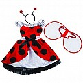 Lana Ladybug Girl Size Dress-up